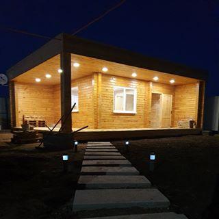 Банный двор, баня. Степногорск, 20 мкр, 60 дом